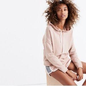 Madewell Semi Cropped Hoodie Sweatshirt G32